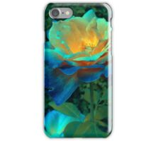 Heart of Gold Fairy Blue Rose iPhone Case/Skin