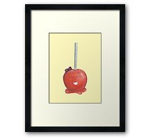 Candy Land Project - #2 Toffee Apple Framed Print