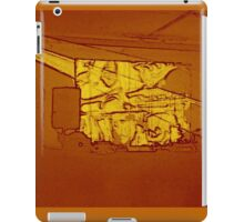 BLACK Electronic Underground #6 iPad Case/Skin