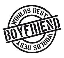 Stempel Worlds best Boyfriend by Style-O-Mat