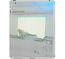 BLACK Electronic Underground #2 iPad Case/Skin
