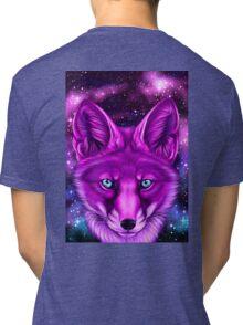 Galaxy Fox Tri-blend T-Shirt