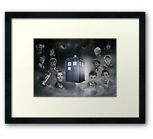 Doctor Who, The Oncoming Storm Framed Print