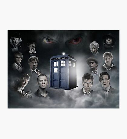 Doctor Who, The Oncoming Storm Photographic Print