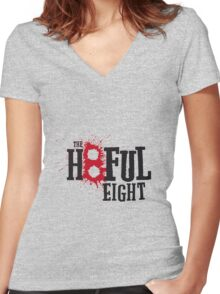 The Hateful Eight Women's Fitted V-Neck T-Shirt