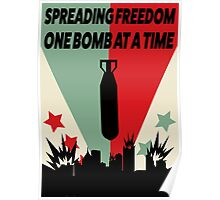 Spreading Freedom Poster