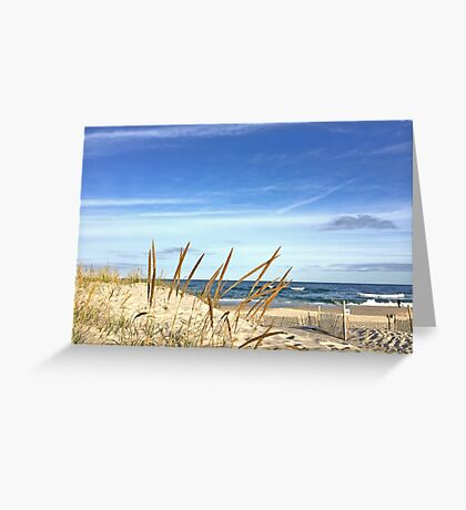 Silver Glass Greeting Card
