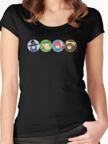 Making an Adventure 03 Women's Fitted Scoop T-Shirt