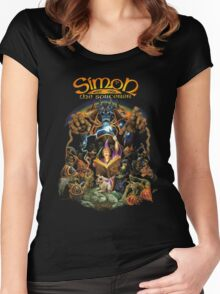 Simon the sorcerer Women's Fitted Scoop T-Shirt