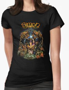 Simon the sorcerer Womens Fitted T-Shirt