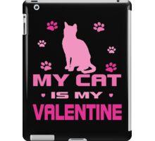 My Cat is My Valentine iPad Case/Skin