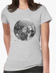 Hand With Reflecting Sphere - Lego® version Womens Fitted T-Shirt