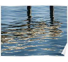 Kwinana Jetty Reflection Poster