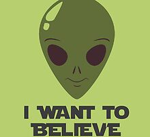 I want to believe  by teesten