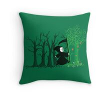 The hills were alive Throw Pillow