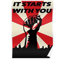 It Starts With You Poster