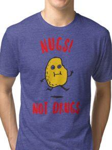 Nugs Not Drugs T-Shirt Tri-blend T-Shirt
