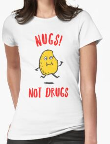 Nugs Not Drugs T-Shirt Womens Fitted T-Shirt