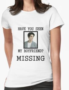 EXO Sehun - Have You Seen My Boyfriend Womens Fitted T-Shirt