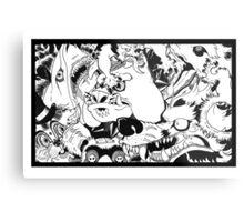 Monster Mash! Metal Print
