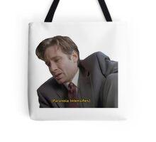 Fox Mulder [paranoia intensifies] Tote Bag