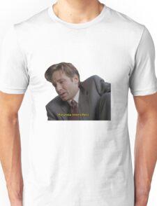 Fox Mulder [paranoia intensifies] Unisex T-Shirt