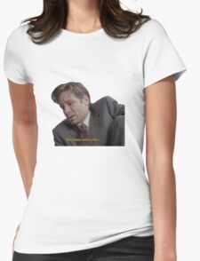 Fox Mulder [paranoia intensifies] Womens Fitted T-Shirt