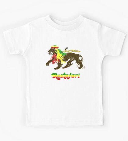 Reggae Rasta, Rastafari Lion Kids Tee