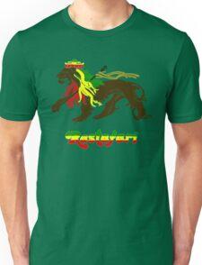 Reggae Rasta, Rastafari Lion Unisex T-Shirt