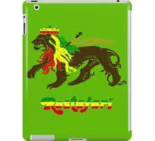Reggae Rasta, Rastafari Lion iPad Case/Skin