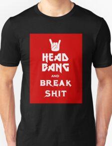 Head Bang (Metal Fonts) T-Shirt