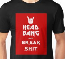 Head Bang (Metal Fonts) Unisex T-Shirt