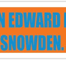 Pardon EDWARD Sticker