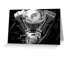 Heart of a Harley Greeting Card