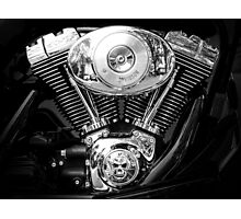 Heart of a Harley Photographic Print