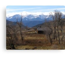 Cuchara, CO Ranch  Canvas Print