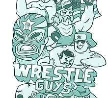 Wrestle Guys by fightstacy