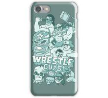 Wrestle Guys iPhone Case/Skin