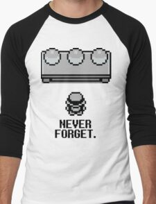 Never Forget Men's Baseball ¾ T-Shirt