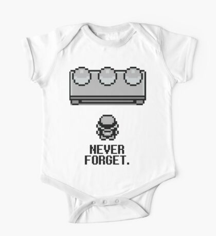 Never Forget One Piece - Short Sleeve