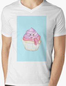 Candy Land Project - #4 Cupcake Mens V-Neck T-Shirt