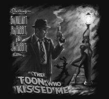 The Toon Who Kissed Me (B&W) by Punksthetic