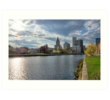 Downtown Providence, RI Art Print
