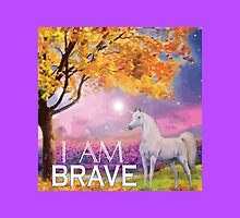 I AM BRAVE by heartcentered
