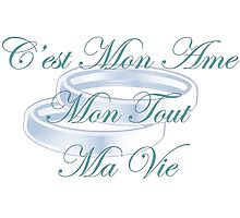 C'est Mon Ame - French Photographic Print
