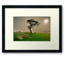 """Dawn Shroud At The Rocks"" Framed Print"