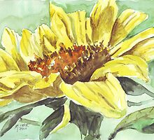 Symbol of Adoration - Sunflower by Maree  Clarkson
