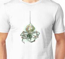 Spider drinking tea Unisex T-Shirt