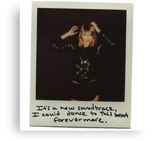 Taylor Swift - Forefer more Canvas Print