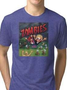 Zombies Ate My Neighbors Tri-blend T-Shirt